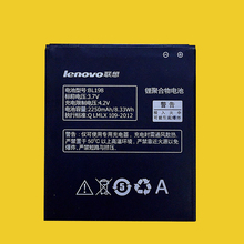 Original Battery BL198 For Lenovo A859 A860E S890 A850 A830 K860 K860i A678T S880 S880i 2250mAh High Quality Cell Phone Batterie