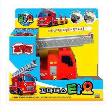 Tayo the little bus mini red Fire truck Frank kids toy model car tayo tayo bus miniatura de carro juguetes educativos para ninos(China)