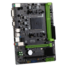 MS-A88FE Turbo M.2 Computer Gaming Motherboard Desktop Mainboard Systemboard for AMD A85 SATA3.0 USB3.0 DDR3 mATX with LED Light