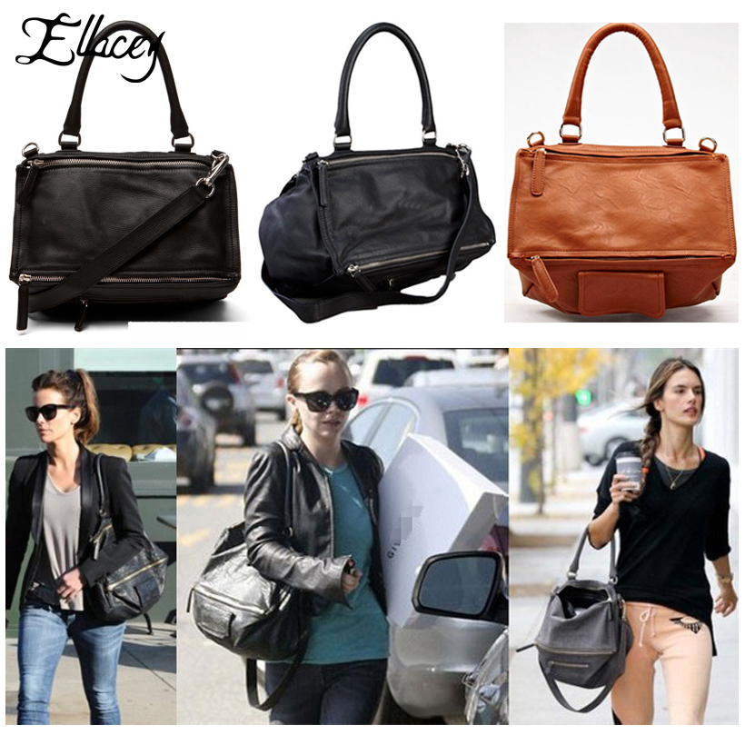 New 2017 Famous Brand Give Fashion Star Style Design Pandora Shoulder Bags Messeger Handbag Soft PU Leather Bag Double Style<br><br>Aliexpress