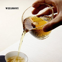 1PCS WIZAMONY Sales No. 1 Heat Resistant Fair Mug Justice Cup Japanese Style with high quality Kung Fu Tea Bowl(China)
