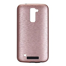 Smart Phone Cases for LG K10 K 10 Phone Shell Brushed Metallic Luster PC TPU Phone Casing Case Cover for LG K10 Mobile Phone Bag