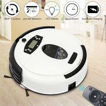 Warmtoo White Automatical Dust 699B Mopping Robot Auto Floor Vacuum Cleaner Robot Smart Robotic with Big Suction Power