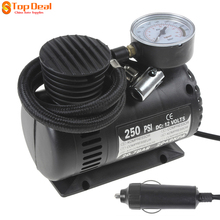 Clearance 250PSI 12V Electric Motorcycles Tire Tyre Inflator Pump Portable  Sports Balls Air Compressor with 3 Pneumatic Nozzle
