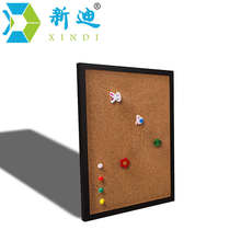 XINDI 5 Colors MDF Frame Bulletin Cork Board 25*35cm Photos Pin Memo Board Cork Message Boards For Notes Home Free Shipping