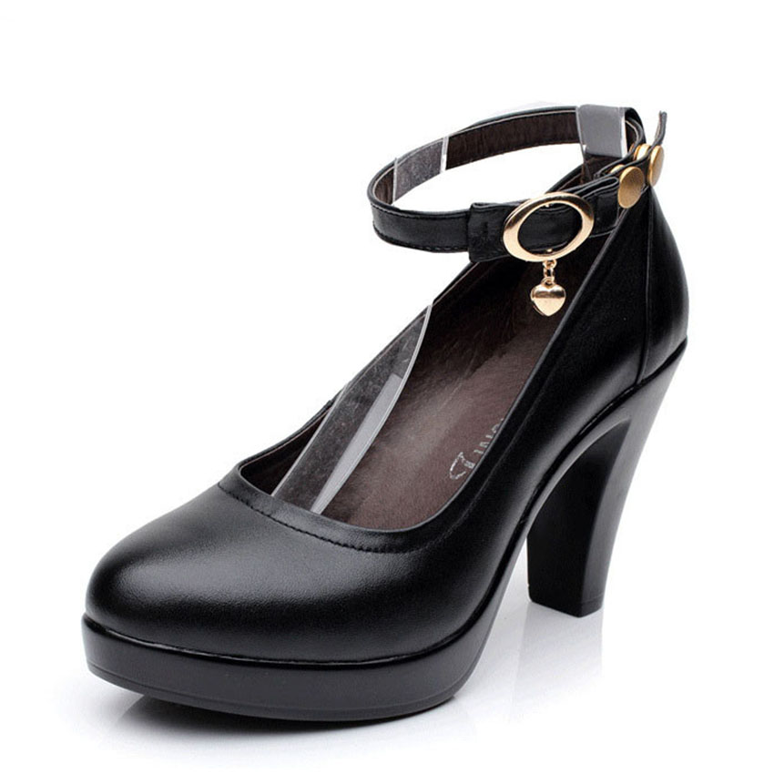free shipping shoes woman zapatos mujer tacon alto sapato de salto alto pumps woman black shoes work office shoes plus size 70<br><br>Aliexpress