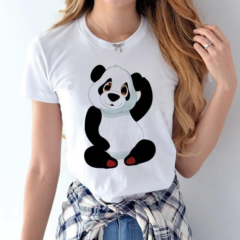 100% Coton 2018 Femmes T chemises D'été Amour Imprimé T-shirt Bande Dessinée Occasionnel de Court Manches Shirt Tops Plus La Taille Blanc T-shirt 23