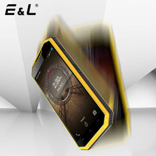 E&L W7 Original Touch Mobile Phone Android 6.0 Waterproof Shockproof Smartphone IP68 4G Rugged Phone Unlocked Cell Phones 2017