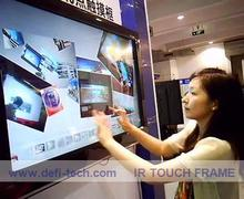 40 Inch High Definition Dual Touch Screen Monitor / IR touch screen frame for touch table, kiosk etc