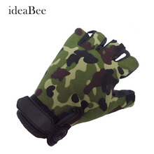Outdoor Driving Tactical Exercise Half Finger Fitness Gloves Sports Fingerless Microfiber Mens&womens Tactical Gloves