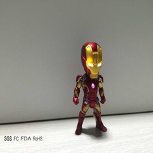 New Arrival  Red Hot Toys Iron Man Helmet Top Quality Kids Best Gift Plastic Cartoon Movie Robert Toys