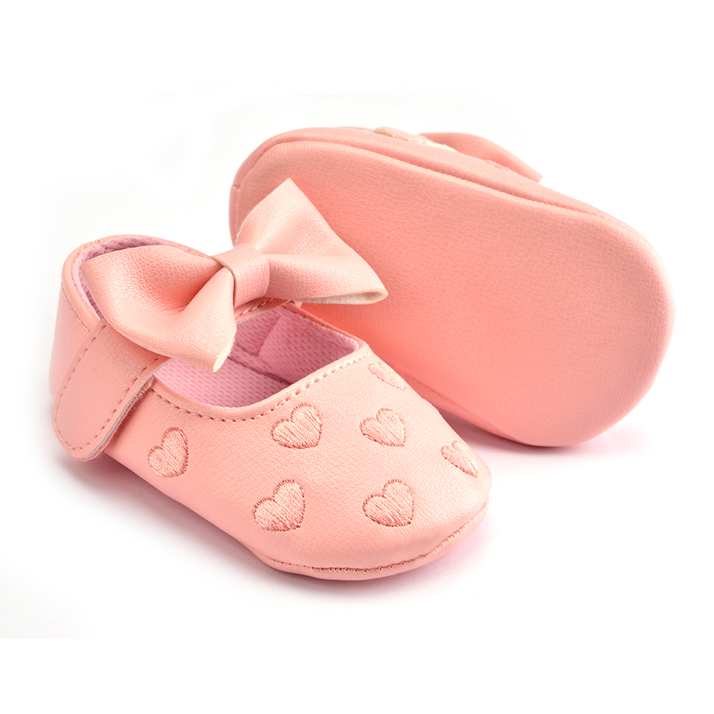 baby shoes for girl newborn 0-18 months toddler infant moccasins sneaker slip on butterfly knot cute soft sole footwear