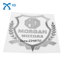 Car styling sticklers body decals Exterior Cover Fender emblem for MORGAN MORRIS GARAGE MG Plus8 Roadster MG3 MG5 MG6 MG7 ZS 3SW(China)