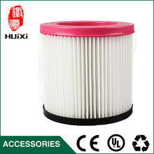 1 PCS plastic and steel wire frame pink hepa filter with high quality for vacuum cleaner parts replacement hepa filter JN-202