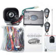 USA Canada Market VP1002 Top Quality  One Way Car Alarm System with Hopping Code English Version Alert Free shipping