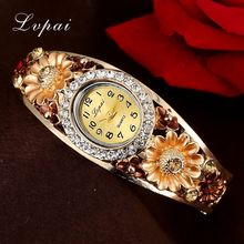 Lvpai Brand Cheap 2016 New Women Flower Watches Quartz Watch Women Outdoor Sports Wristwatch Watches For Women Fashion Watches