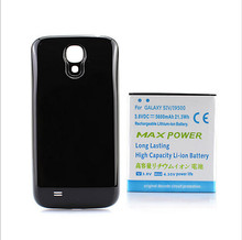 2017 High Capacity 6000mAh S4 I9500 Extended Replacement Battery+Back Case Cover For Samsung Galaxy S4 Cell Phone Battery Case(China)