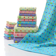 High Quality Face Towel Bath Thick Absorbent Soft Cotton Hand Towel Lovely Cartoon Washcloth