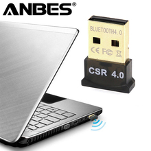 ANBES Wireless USB Bluetooth Adapter V4.0 Bluetooth Dongle Music Receiver Adaptador Bluetooth Transmitter for Computer PC Laptop(China)
