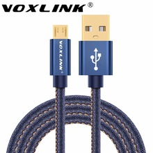 Cowboy Micro USB Cable VOXLINK Fast Charging USB Power Bank Cable For iPhone 7 6 6s Plus 5s iPad mini Samsung Xiaomi Android