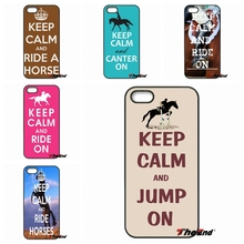 Keep Calm and Ride On Horse Pony Art Phone Case Coque For Motorola Moto E E2 E3 G G2 G3 G4 PLUS X2 Play Style Blackberry Q10 Z10