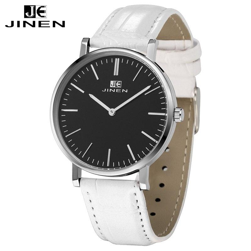 JINEN Men Luxury Brand Leather Strap Casual Fashion Chronograph Luminous Business Sport Quartz<br>