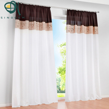 Sinogem European high density 3 colors 3 styles transfer printing Curtain for living room/sitting room/bedroom (ONLY ONE PIECE)(China)