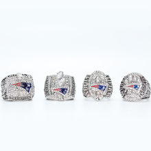 2001 2003 2004 2014 NEW ENGLAND PATRIOTS SUPER BOWL CHAMPIONSHIP RING, 4 PCS RING SET COLLECTION ALL SIZES AVAILABLE(China)