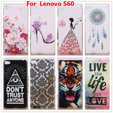 For Lenovo S60 Case, Crystal Diamond 3D Hard Plastic Cover Case For Lenovo S60 S60T Cell Phone Cases