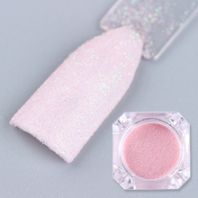 1 Box Pink Nail Glitter Powder Pearlescent Shinning Nail Art Dust Glitter Manicure Decoration Tools