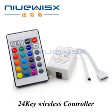 12V 24Key led rgb IR RF Infrared wireless control for 3528/2835/5050 LED 12V 24 Keys Wireless control free shipping