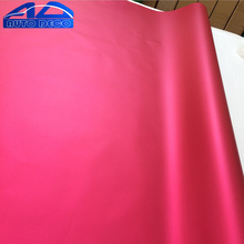 Wholesale Matte Chrome Car Wrap Rose Red Vinyl Film Auto Body Sticker With Air Channel FedEx Free Shipping 1.52*20m/roll(China)