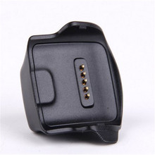 New Charging Cradle Dock Charger Adapter for Samsung Galaxy Gear Fit R350 Smart Watch (For Galaxy Gear Fit [R350])  Black