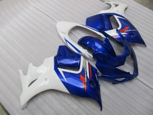 Motorcycle Fairing kit for SUZUKI GSX650F 08 09 10 GSX650F 2008 2009 2010 ABS white blue Fairings set+7gifts SR01