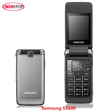 S3600 Original Samsung S3600 Unlocked Mobile Phone 1.3MP Camera GSM 2G Flip Cell Phone(China)