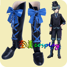Cosplay kuroshitsuji Ciel Phantomhive Theatre Edition deluxe passenger ship shoes Cos Basic Supplies