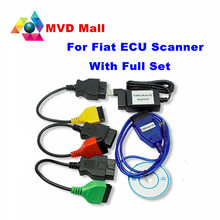 Newly Arrival Alfa For Fiat ECU Scan Diagnostic Cables Special For Fiat ,Support English Work For Alfa Romeo and Lancia Hot Sale(China)