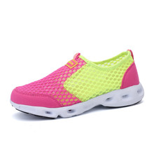 KERZER Spring/Summer Sports Shoes Woman Running Shoes Mesh Breathable Women Trainers Slip On Trail Shoes Light Sneakers Cheap