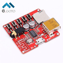 3.7-5V Wireless Bluetooth MP3 Decoder Board BLE 4.1 Circuit Board Module Lossless Decoding Module Micro USB TF Card Interface(China)