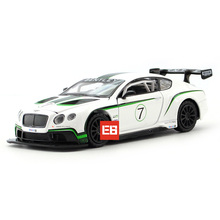 Hot 1:32 scale wheels diecast cars street racing Bentley Continental GT3 metal model with light and sound alloy toys collection