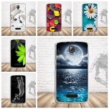 For Fundas Lenovo A1000 A2800 A2800D Case Soft TPU Cover Animal Silicone Phone Cases for Lenovo A1000 A 1000 Case Cover Luxury