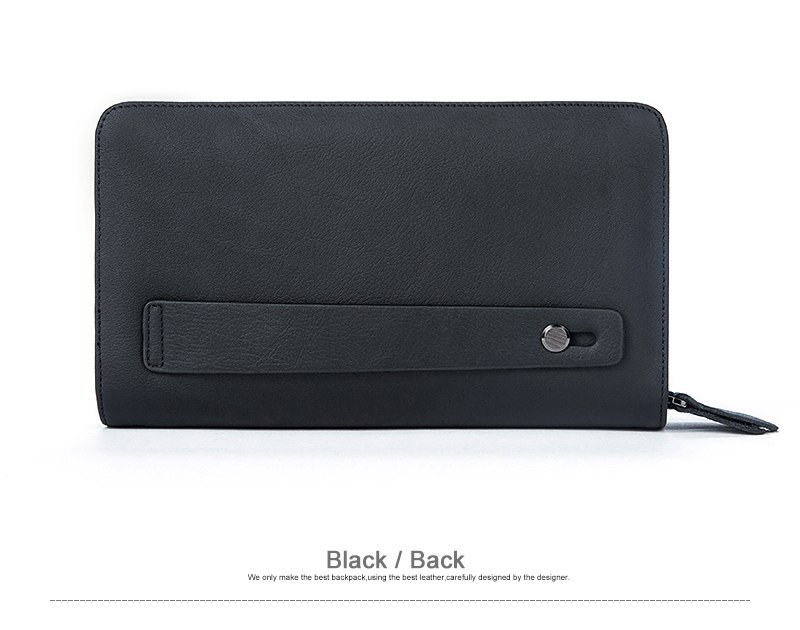 Mahukas rahakott punast, musta või pruuni värvi