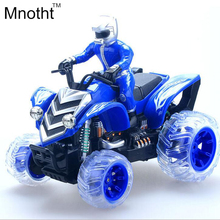 1:12 Charging Remote Control Motorcycle Toys Beach Flip Strolling Stunt With Flashing Music of Children's Toy High Speed Racing
