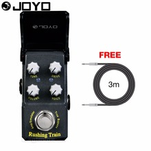 Joyo Ironman Rushing Train Amp Simulator Electric Guitar Effect Pedal True Bypass JF-306 with Free 3m Cable(Hong Kong)