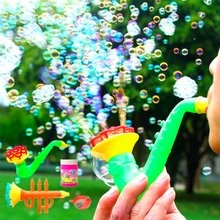 Buy 1pcs 15cm Multi Music Style Soap Bubble Concentrate Stick liquild Sax Tuba Horn Kid Gazillion Bubbles Bar Blowing Bubble for $2.74 in AliExpress store