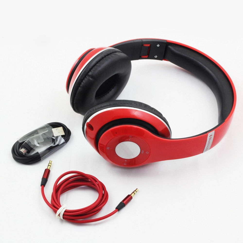 Foldable Wireless Bluetooth Headset Earphone Stereo Headphone for iPhone Samsung<br><br>Aliexpress