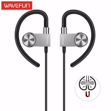 Wavefun X-Buds Metal 4.1 bluetooth earphones sport wireless headphones headset IPX4 magnetic earbuds mic for phone iPhone xiaomi