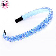 haimeikang Beaded Wedding  fashion Hair bands Fascinators Crystal  Headbands Hairbands Female Accessoire Cheveux   Brand