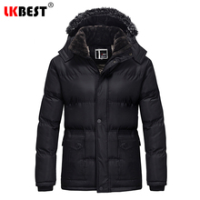 LKBEST Winter jacket for men Hooded winter jackets and coats cotton men parka Thick Warm men overcoats brand clothing (PW613)