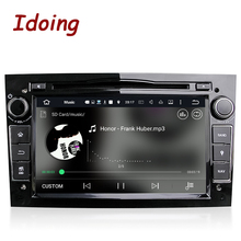 Idoing 2Din Android7.1 For Opel Vectra Corsa D Astra H Steering-Wheel Car DVD Multimedia Video Player Fast Boot 4Core 2G+16g